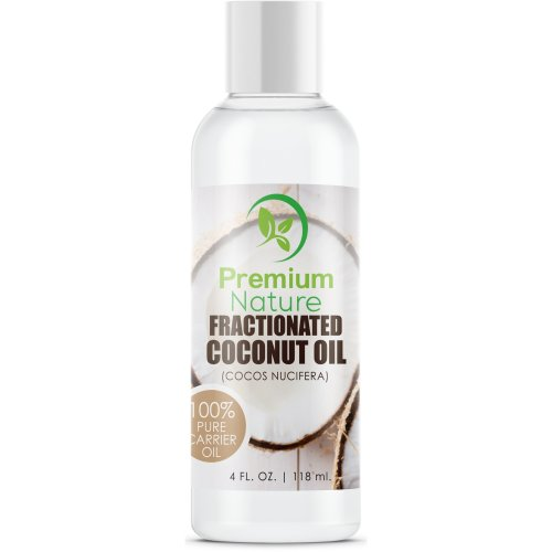 Fractionated Coconut Oil Natural Carrier Oil - 120ml Nourishes Skin For  Face & Body Moisturizes Repairs Damaged Hair - Antibacterial & Antifungal
