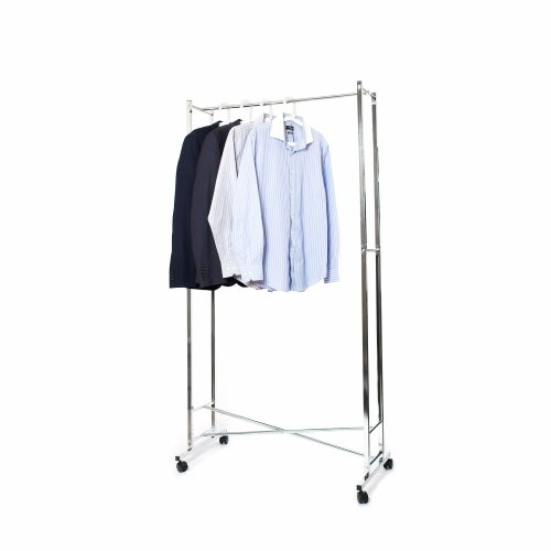 Folding Hanging Clothes Rail, Strong & Lightweight, Commercial Quality - Portable, Space Saving, Compact Design - Easy to Fold from Pristine®....