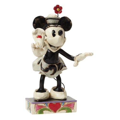 Disney Traditions Yoo Hoo Minnie Mouse Figurine