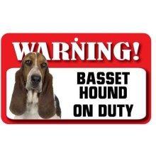 Basset Hound Pet Sign