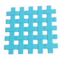 Silicone Placemat Cup Bowl Mat Table Non-slip Potholders Tableware Pad Blue