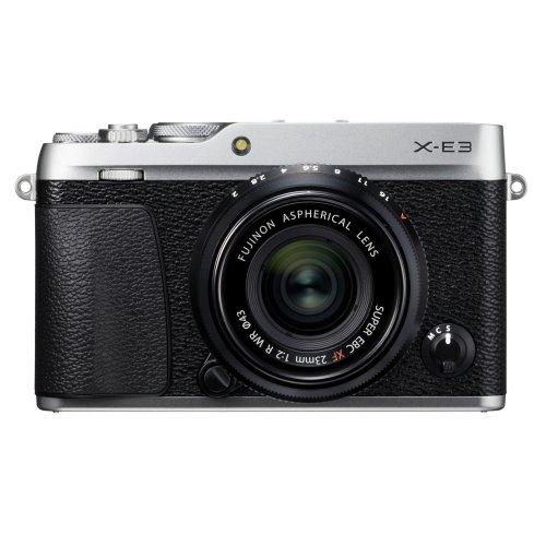 Fujifilm X-E3 with XF 23mm F2.0 lens (Silver)