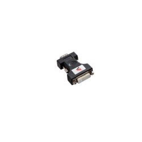 V7 ADAPTER VGA TO DVI-I BLACK HDDB15/DVI-I DUAL LINK/ M/F