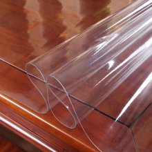 Plastic Tablecloth,Table Cover, PVC Tablecloth(Clear,1.5mm,70*130cm)