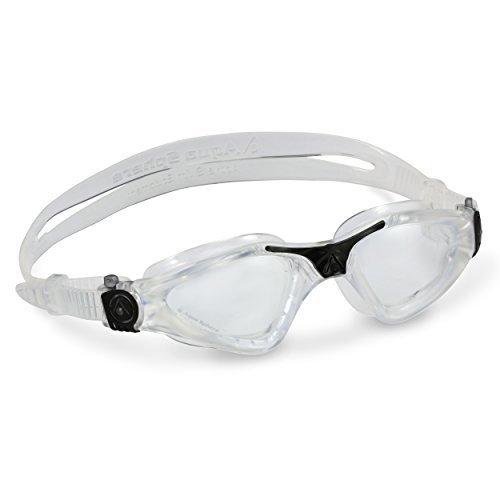 Aqua Sphere Kayenne Swim Goggles With Clear Lens Clear Black