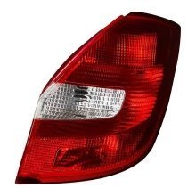 Skoda Fabia Mk2 2007-> Rear Tail Light Drivers Side O/s