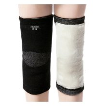 Thicken Knee Brace Sleeve for Sports/Yoga/Dance/Arthritis/Joint Pain Black (M)