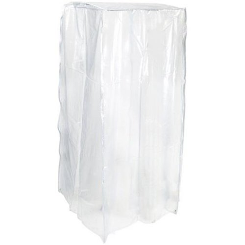 Pan Rack Covers, Clear - 63.5 x 27 x 22 in.