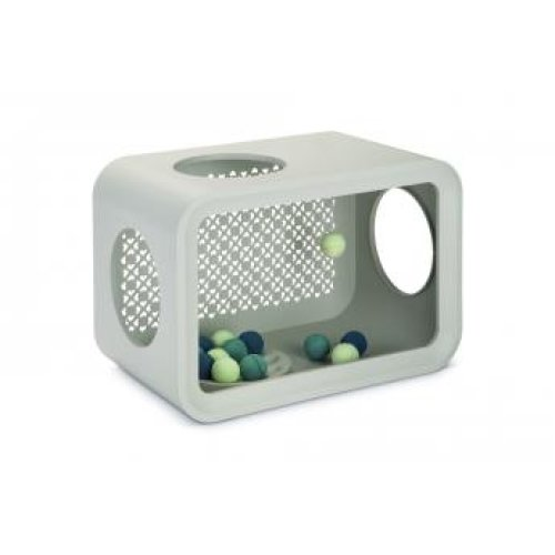 Beeztees Cat Cube Play Dune Grey 49cm
