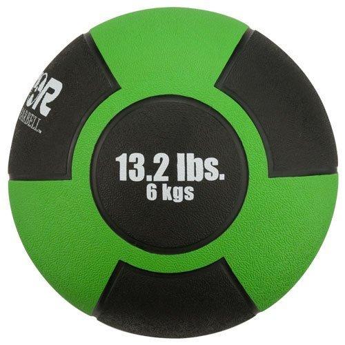 Rubber Medicine Ball 13 2 lb Green