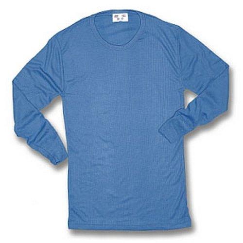 Click THVLSL Thermal Vest Long Sleeve Blue Large
