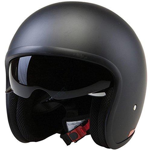 Viper RS-V06 Matt Black Open Face Helmet