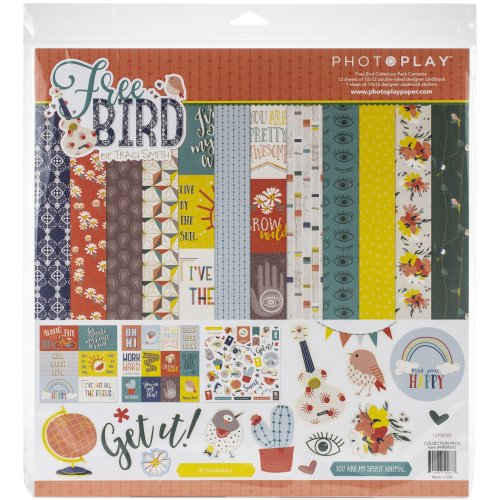"""Photoplay Collection Pack 12""""X12""""-Free Bird"""