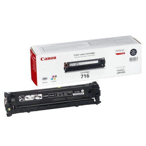 Canon Cartridge 716 Black 2300pages Black