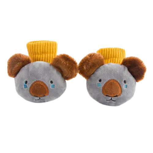 Kids Funny Socks Keep Warm Floor Socks Winter Cotton Boot Socks-A2