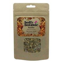 (40 Cup Loose) Holly Botanic Sore Throat Tisane – Soothe | Ginger Cinnamon Herbal Tea