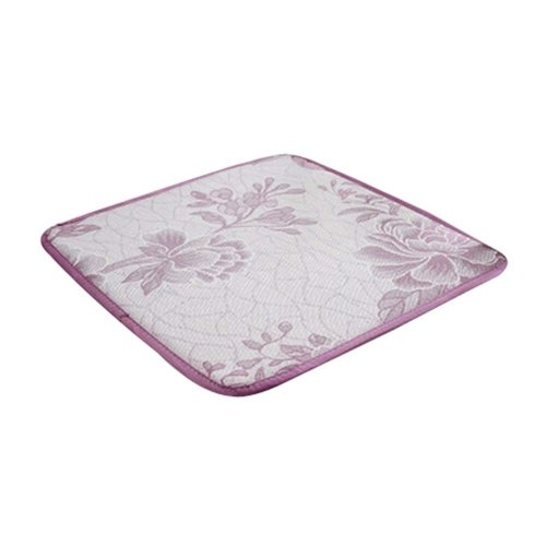2 Pieces Summer Cushion/Comfortable Office/Car/School Cushions, Pink Flower