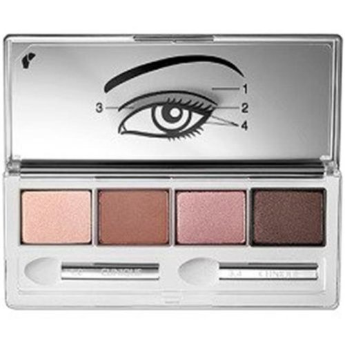 Clinique CQAABSES44 0.16 oz All About Eye Shadow for Quad No.06 Pink Chocolate
