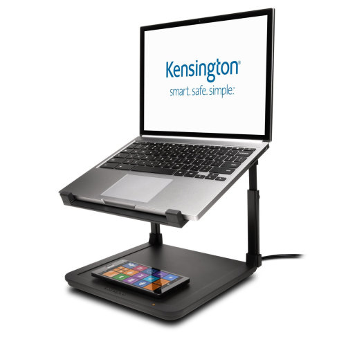 Kensington K52784WW 15.6  Black notebook arm/stand