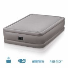 Intex 64468 Inflatable Double Mattress with Integrated Pump