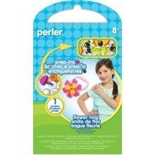 Prl52950 - Perler Beads - Snap Ins Activity Kit - Flower Ring
