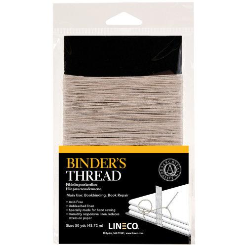 Lineco Binder's Thread 50 Yards-Irish Linen