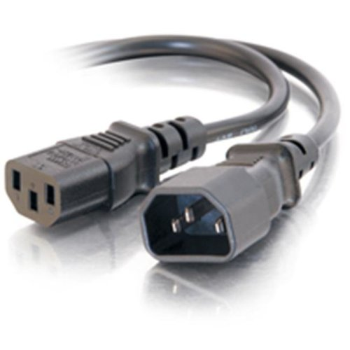 Cables To Go 20941 15ft COMPUTER POWER CORD EXTENSION (IEC320 C13 to IEC320 C14)