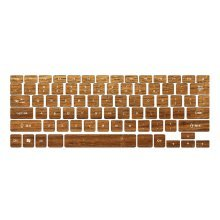 Classic Wood Grain Keyboard Stickers / Decals For MacBook (Pro 13 Inch  Retina)