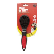 Mikki Easy Grooming Nylon Bristle Brush Large