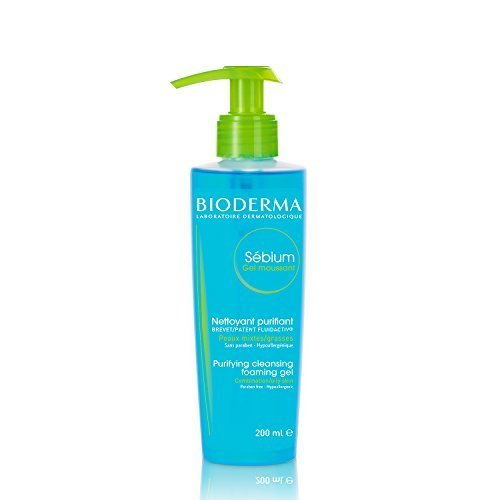 Bioderma Sébium Foaming Gel Facial Cleanser for Combination to Oily Skin - 6.67 fl. oz.