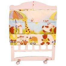 Lovely Animal Multilayer Pouch Diaper Bag Storage Bag Baby Bedside Bag