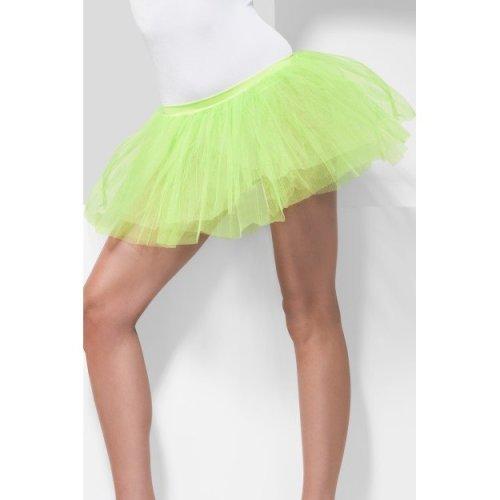 af123ab061f 30cm Neon Green Tutu Underskirt - tutu neon underskirt green fancy dress  80s smiffys ladies adult accessory 1980s on OnBuy