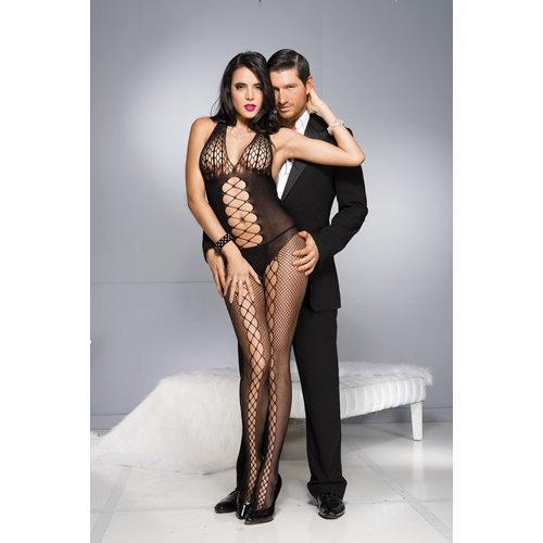 Catsuit With Lacing Design One Size (S-L 34 - 40) Ladies Lingerie Cat suits - Music Legs