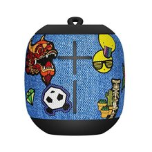 Ultimate Ears WONDERBOOM Waterproof Bluetooth Speaker with Double-Up Connection, Patches