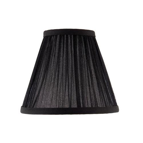 Kemp Six Inch Black Organza Shade - Interiors 1900 CA1BSHN
