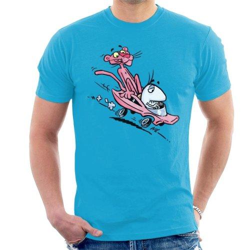 Pink Panther Calvin And Hobbes Mix Men's T-Shirt