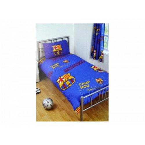 FC Barcelona Patch Duvet And Pillow Set