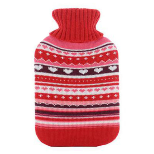Warm Cute Hot-Water Bottle Water Bag Water Injection Handwarmer Pocket Cozy Comfort,H