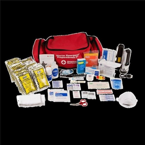 First Aid Only FAO91050 First Aid Emergency Preparedness Starter Kit with Backpack