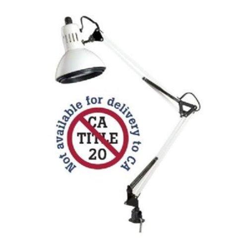 Alvin G2540-DLED LED Swing-Arm Lamp, White