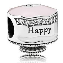 Pandora Happy Birthday Cake Charm - 792061ENMX