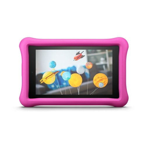 "Amazon Fire for Kids Kid-Proof Case for Fire 7 (7"" Tablet, 7th Gen - 2017), Pink"