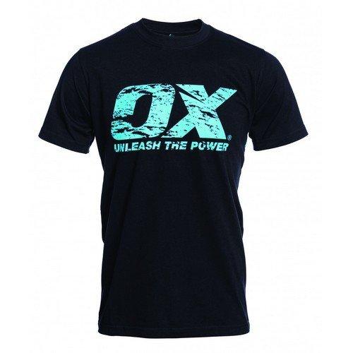 OX W550501 Crew Neck T Shirt Black XS