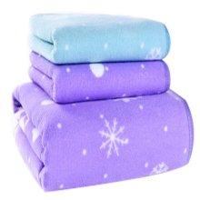 Snowflake Pattern Absorbent Bath Towels Linen Sets(Multicolor)