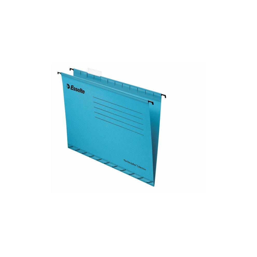 Esselte Pendaflex A4 Cardboard Blue hanging folder