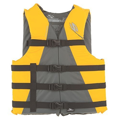 Stearns Adult Watersport Classic Series Life Vest Yellow