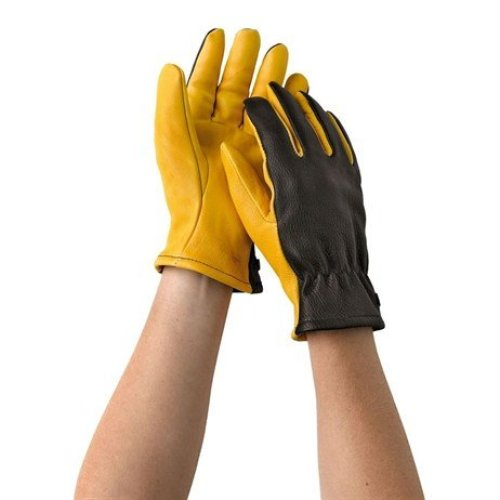 Gold Leaf Dry Touch Gloves Mens