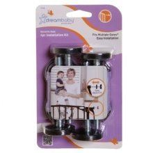 Dreambaby 4 Piece Installation Kit (black)