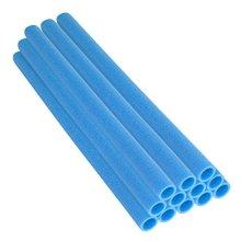 Upper Bounce 33-Inch Trampoline Pole Foam Sleeves Fits for 1.5-Inch Diameter Pole (Set of 12), Blue