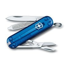 Victorinox Classic Sd Jelly Blue Swiss Army Knife. New